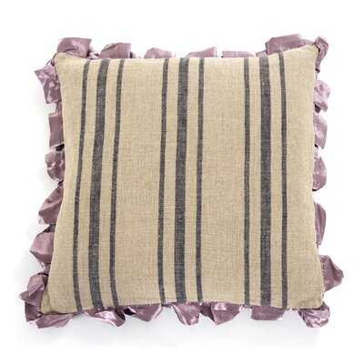 Lavender Skirted Throw Pillow