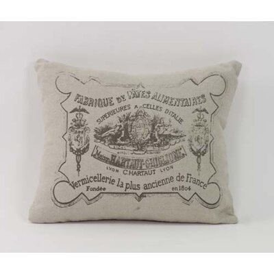 Stamp Throw Pillow