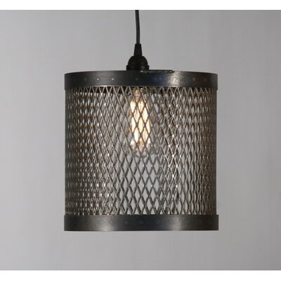 Cage 1 Drum Pendant Cage Light 10x10