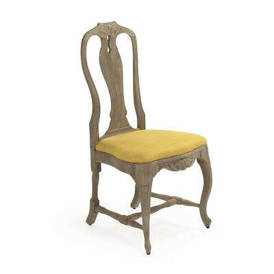 Kate Fabric Side Chair Upholstery Color: Yellow
