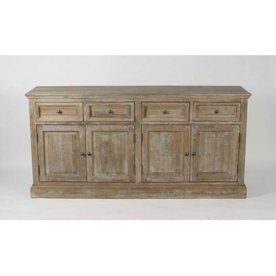 Albert Sideboard Finish: Limed Grey Oak