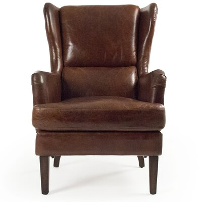 Henri Wingback Lounge Chair