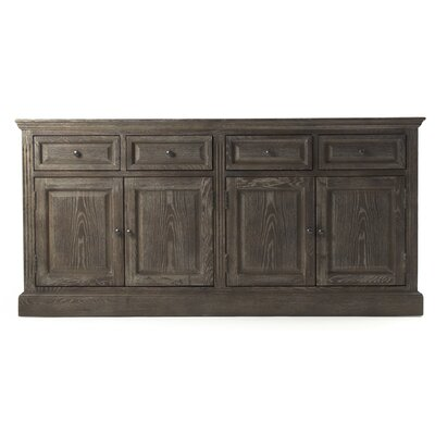 Albert Sideboard Color: Limed Charcoal Oak