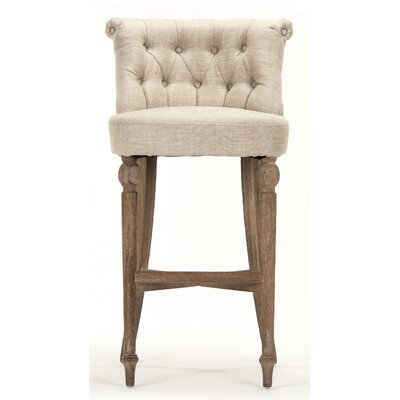 Amelie Bar Stool with Cushion