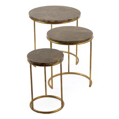 Clovis 3 Piece Nesting Tables (Set of 3)