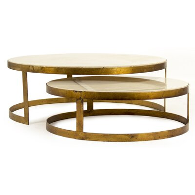 Fae 2 Piece Coffee Table Set (Set of 2)