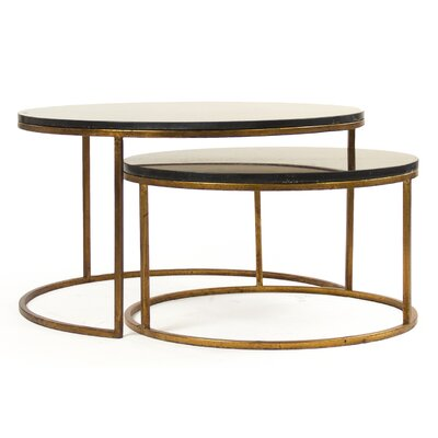 Cheri 2 Piece Coffee Table Set