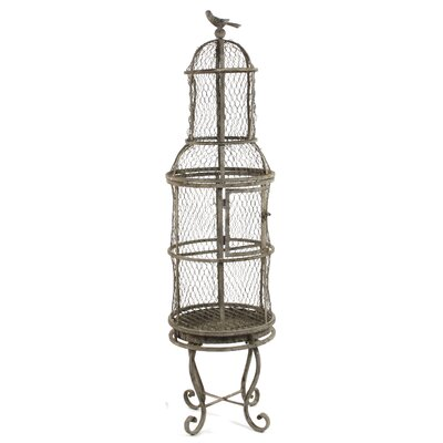 Decorative Bird Cage with Stand HR110678S.03