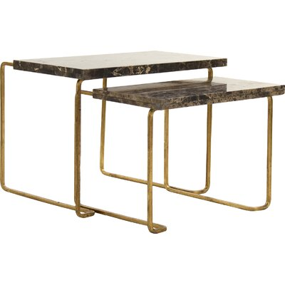Amoux 2 Piece Nesting Tables
