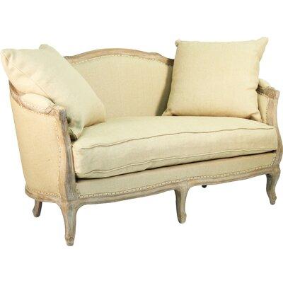 Maison Settee Upholstery: Hemp Linen