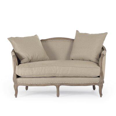 Maison Settee  Loveseat Upholstery: Jute