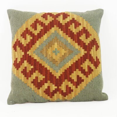Himalaya Kilim Linen Throw Pillow