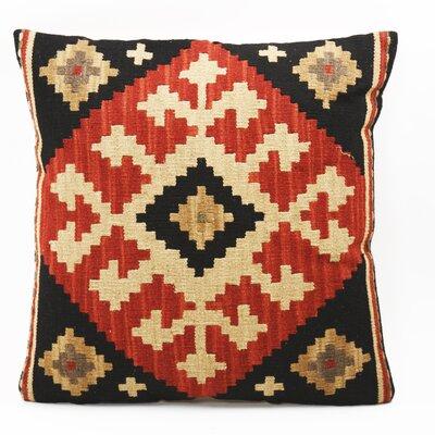 Gandhi Kilim Linen Throw Pillow