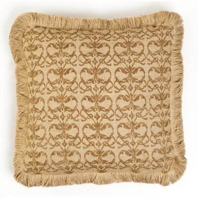 Square Jute Throw Pillow