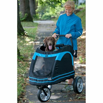 Roadster Pet Stroller Color: Blue