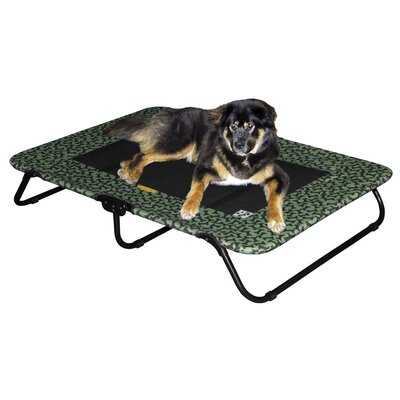 Designer Dog Cot Size: Large (50 H x 34 W), Color: Sage Bone
