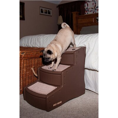 Easy Step Soft Pet Stair Color: Chocolate