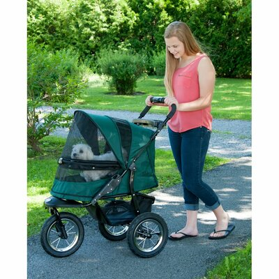 No-Zip Jogger Pet Stroller Color: Forest Green