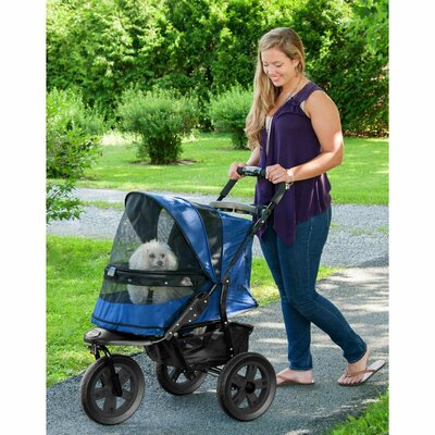 AT3 NO-ZIP Pet Stroller Color: Midnight River