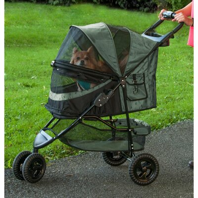 No Zip Special Edition Pet Jogger Stroller Color: Sage