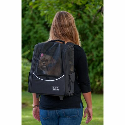 I-GO2 Escort Pet Carrier Color: Black