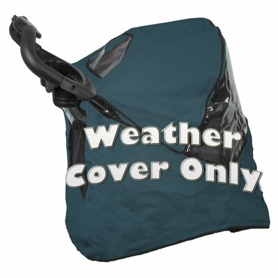 Pet Stroller Weather Cover for Happy Trails Color: Blue