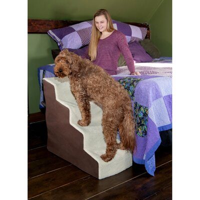 Easy Steps Deluxe Soft 4 Step Pet Stair