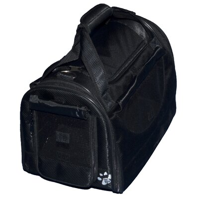 Pet Gear World Traveler Tote Bag Pet Carrier in Black Diamond - Size: Large at Sears.com
