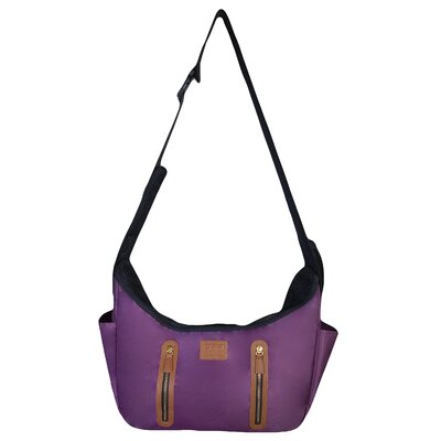 RR Sling Pet Carrier Color: Mulberry