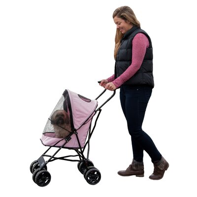 Travel Lite Standard Pet Stroller Color: Pink