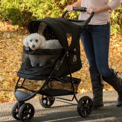 No Zip Special Edition Pet Jogger Stroller Color: Gold Monogram