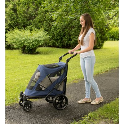 Excursion Standard Stroller Color: Midnight Blue