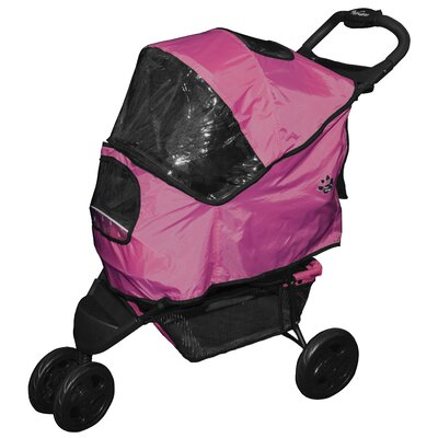 Weather Cover for Special Edition Pet Stroller Color: Raspberry