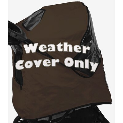 Pet Stroller Weather Cover for Happy Trails Color: Sahara
