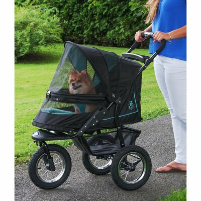 No Zip NV Pet Stroller Color: Skyline