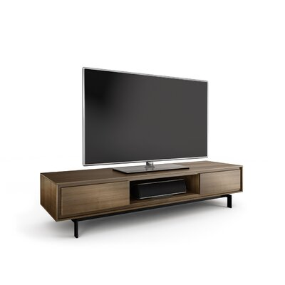 Signal 79.3 TV Stand Color: Natural Walnut