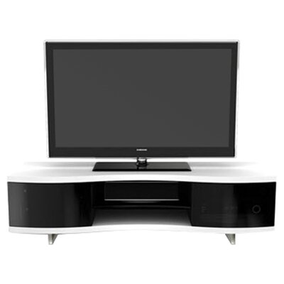 Ola Triple Wide 69 TV Stand Color: Satin White