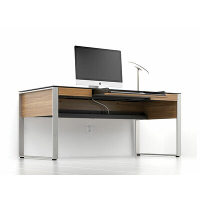 Sequel Executive Desk Finish: Natural Walnut Product Picture 456