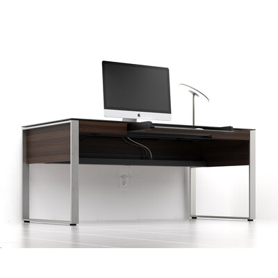 Sequel Executive Desk Stained Walnut Product Photo