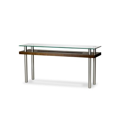 Hokkaido Console Table Finish: Chocolate Walnut