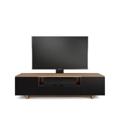 Nora Slim 77 TV Stand Color: Natural Walnut