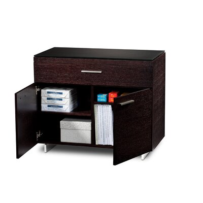 Sequel 1-Drawer Storage File Finish: Espresso Stained Oak Product Image 31
