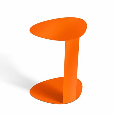 Bink Mobile Media Side Table Finish: Tangerine