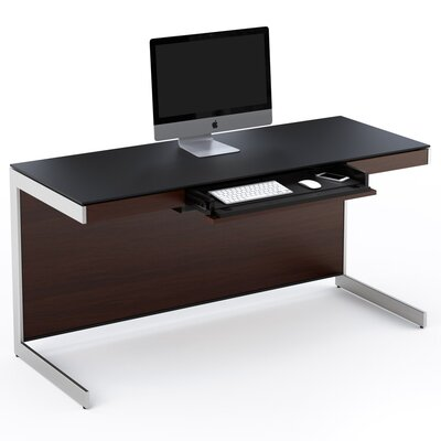 Sequel Computer Desk Finish: Chocolate Stained Walnut Product Picture 453