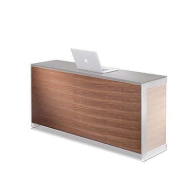 Sequel 25 H x 59 W Desk Privacy Panel Finish: Walnut