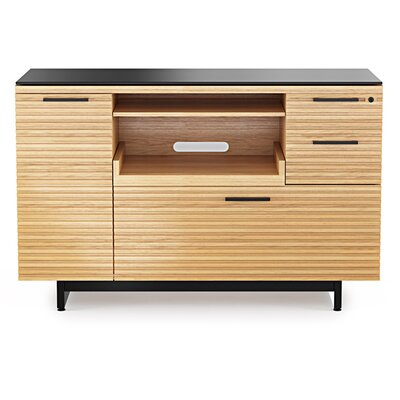 Corridor 48 TV Stand Color: White Oak