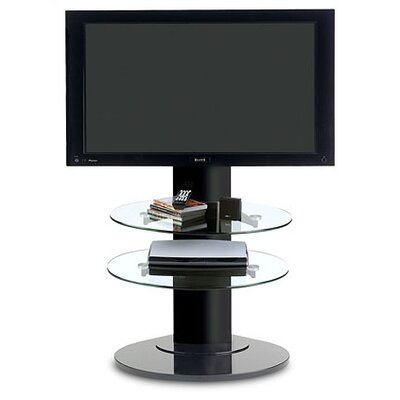 Cheap BDI USA Vista Plasma 34″ TV Stand in Gloss Black w/ Adjustable Shelves (37″ – 55″ Screens) (BDI1218)