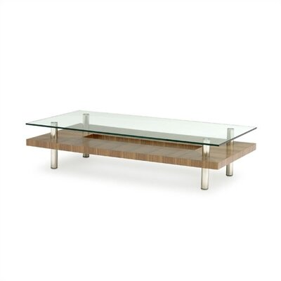 Hokkaido Long Coffee Table Finish: Walnut