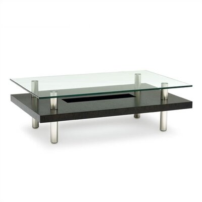 Hokkaido Rectangular Coffee Table Finish: Espresso
