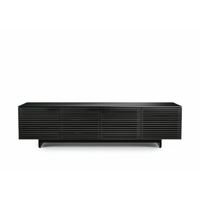 Corridor 79.3 TV Stand Color: Charcoal Stained Ash